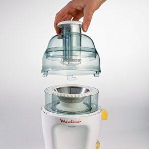 Recensione centrifuga Moulinex JU2000 - Motore 200watt - Oasi del succo